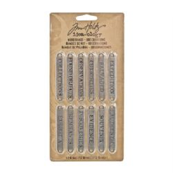 TH93084 Tim Holtz® Idea-ology™ Word Bands - Observations